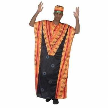 Originele afrikaanse kaftan verkleed carnavalskleding heren