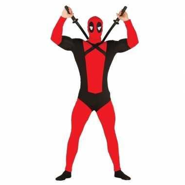 Originele anti superheld mutant verkleed carnavalskleding heren