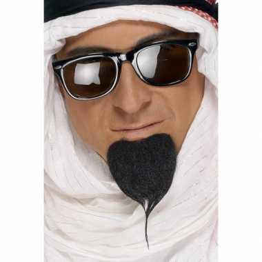 Originele  Arabische baard zwart carnavalskleding