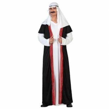 Originele arabische sjeik nacht verkleed carnavalskleding/gewaad here