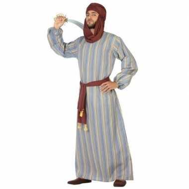 Originele arabische strijder ali verkleed carnavalskleding/gewaad her