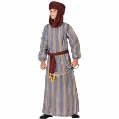 Originele arabische strijder ali verkleed carnavalskleding/gewaad jon