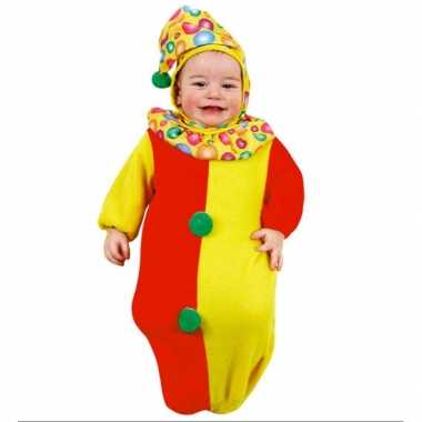 Originele  Baby -carnavalskleding clown slaapzakje