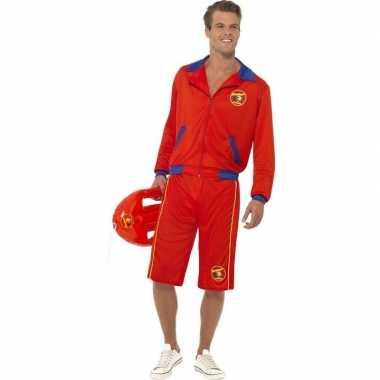 Originele baywatch verkleed carnavalskleding heren