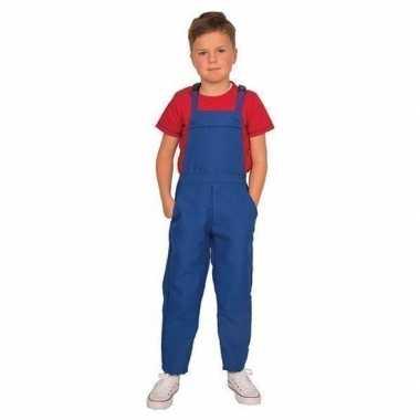 Originele blauwe tuinbroek/carnavalskledingl kinderen