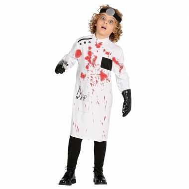Originele bloederig dokters carnavalskleding kinderen