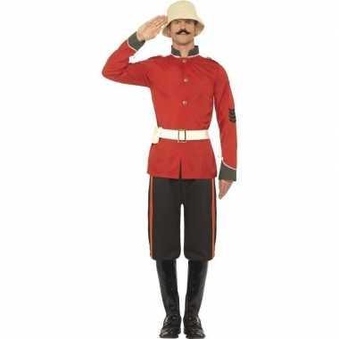Originele boerenoorlog soldaat carnavalskleding heren