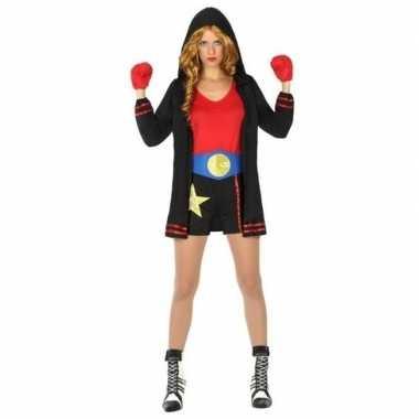 Originele bokser verkleed carnavalskleding/carnavalskleding dames