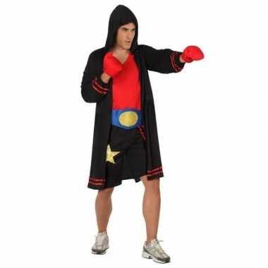Originele bokser verkleed carnavalskleding/carnavalskleding heren