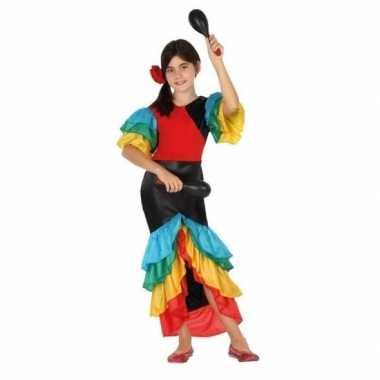 Originele braziliaanse samba/rumba danseres verkleed carnavalskleding