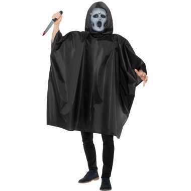 Originele carnaval cape scream masker carnavalskleding