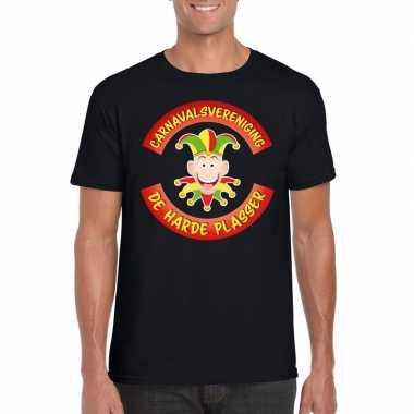 Originele carnavalsvereniging harde plasser limburg heren t shirt zwa