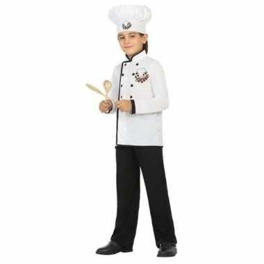 Originele chef kok verkleed carnavalskleding jongens
