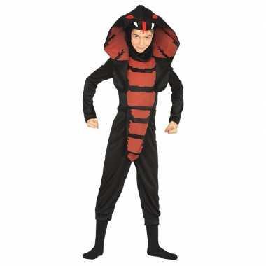Originele cobra ninja slangen carnavalskleding jongens