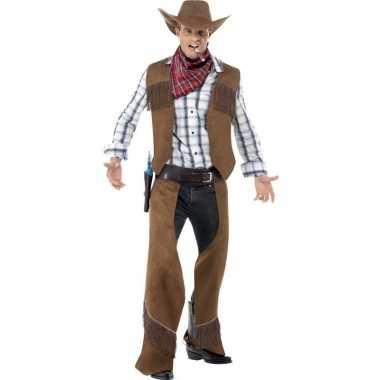 Originele cowboy carnavalskleding heren
