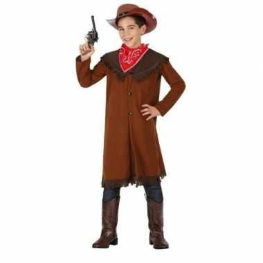 Originele cowboy john verkleed carnavalskleding jongens