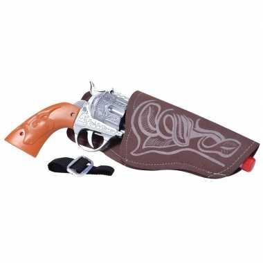 Originele cowboy pistool holster carnavalskleding