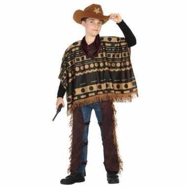 Originele cowboy/western carnavalskleding/verkleed carnavalskleding j