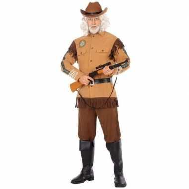 Originele cowboy/western verkleed carnavalskleding wild bill heren