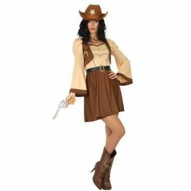 Originele cowgirl/cowboy cassidy verkleed carnavalskleding/carnavalsk