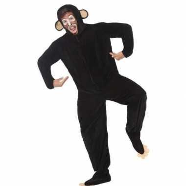 Originele dieren carnavalskleding apen/chimpansee verkleedcarnavalskl
