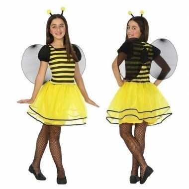 Originele dieren carnavalskleding bij/bijen verkleed carnavalskleding