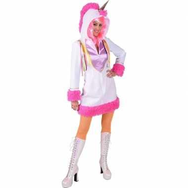 Originele dieren carnavalskleding dames eenhoorn