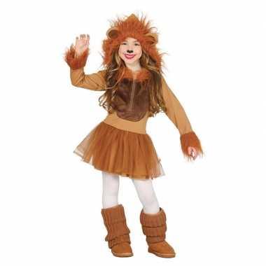 Originele dieren carnavalskleding leeuw verkleedcarnavalskleding meis