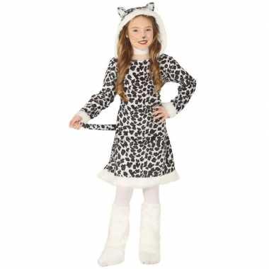 Originele dieren carnavalskleding luipaard verkleedcarnavalskleding m