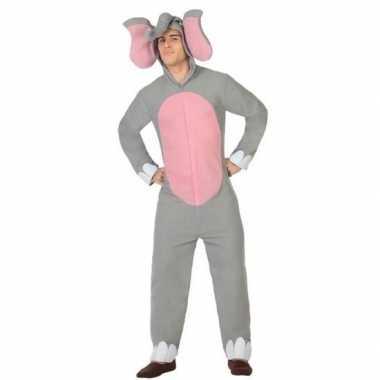 Originele dieren carnavalskleding olifant verkleed carnavalskleding v