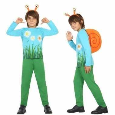 Originele dieren carnavalskleding slak/slakken verkleed carnavalskled