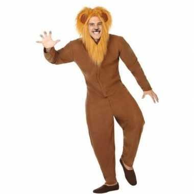 Originele dieren carnavalskleding verkleed carnavalskleding bruine le