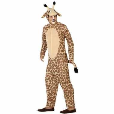 Originele dieren carnavalskleding verkleed carnavalskleding giraffe v