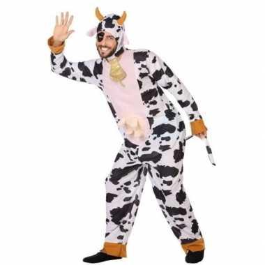 Originele dieren carnavalskleding verkleed carnavalskleding koe volwa