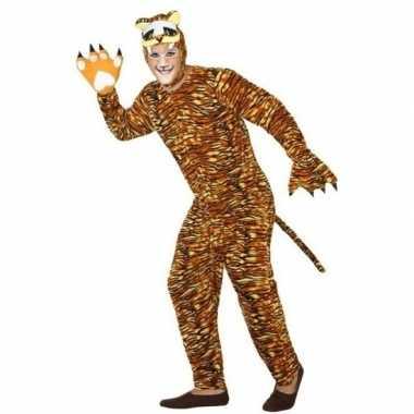 Originele dieren carnavalskleding verkleed carnavalskleding tijger vo