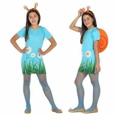 Originele dieren verkleed carnavalskleding/carnavalskleding slak/slak