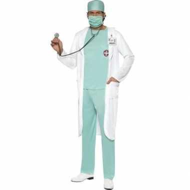 Originele dokter carnavalskleding jas heren