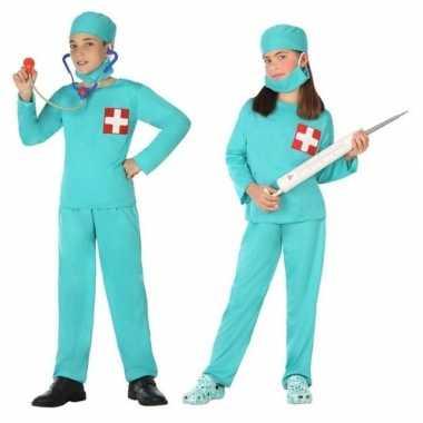 Originele dokter/chirurg verkleed carnavalskleding jongens meisjes
