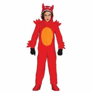 Originele duivel monster carnavalskleding kinderen