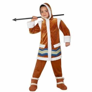 Originele  Eskimo carnavalskleding kids