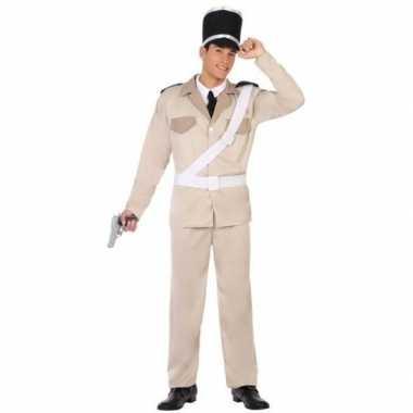 Originele franse gendarmerie/politie verkleed carnavalskleding/carnav