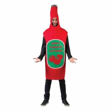 Originele funny carnavalskleding carnavalskleding ketchup