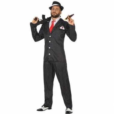 Originele gangster verkleed carnavalskleding heren