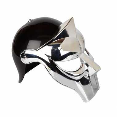 Originele  Gladiator verkleed helm volwassenen carnavalskleding