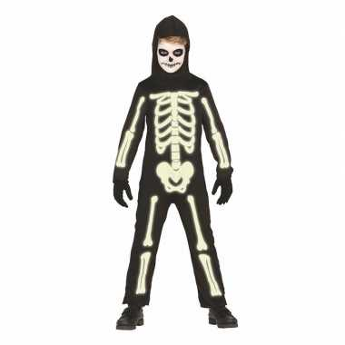 Doktersjas Halloween.Originele Glow The Dark Halloween Skelet Carnavalskleding Kids