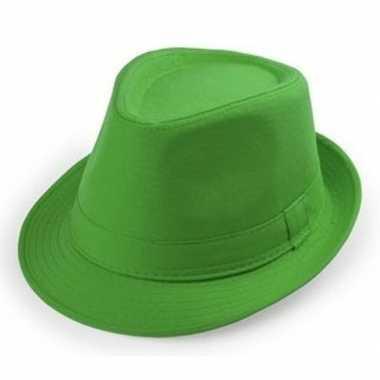 Originele goedkope groene verkleed hoedjes volwassenen carnavalskledi
