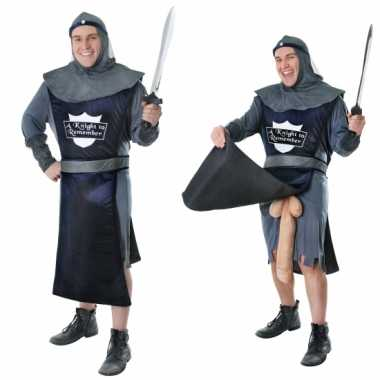 Originele grappige ridder carnavalskledings