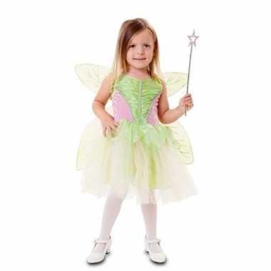 Originele groene fee carnavalskleding meisjes