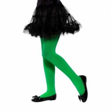 Originele groene legging kinderen jaar carnavalskleding