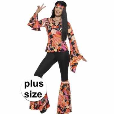 Originele grote maten hippie carnavalskleding willow dames